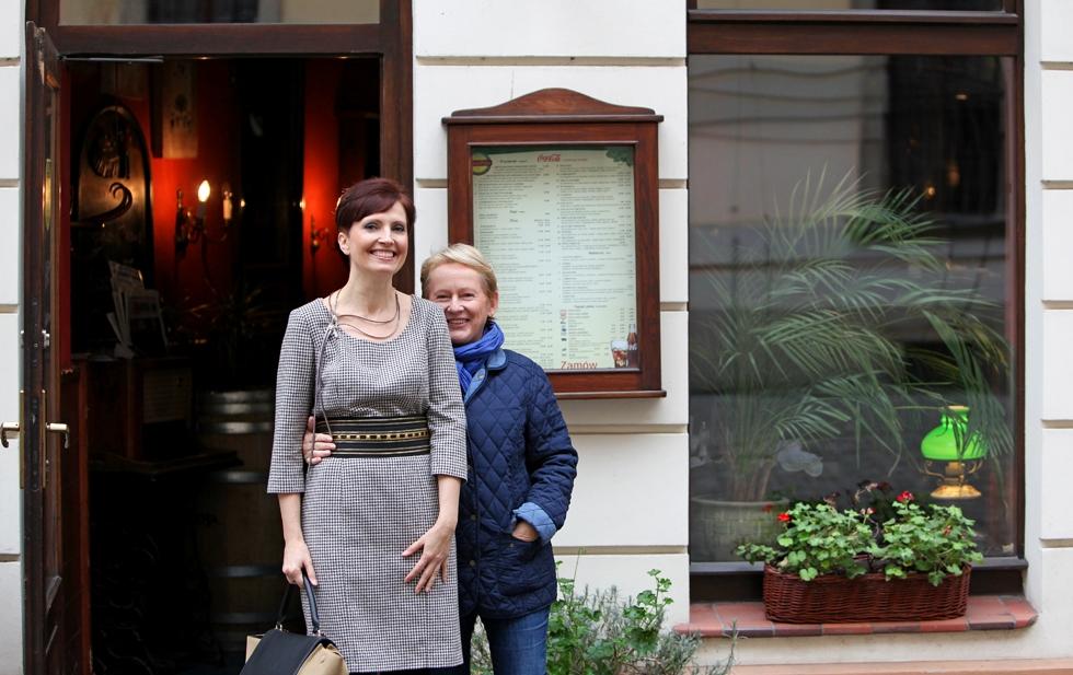 Luiza ze mną i restauracja