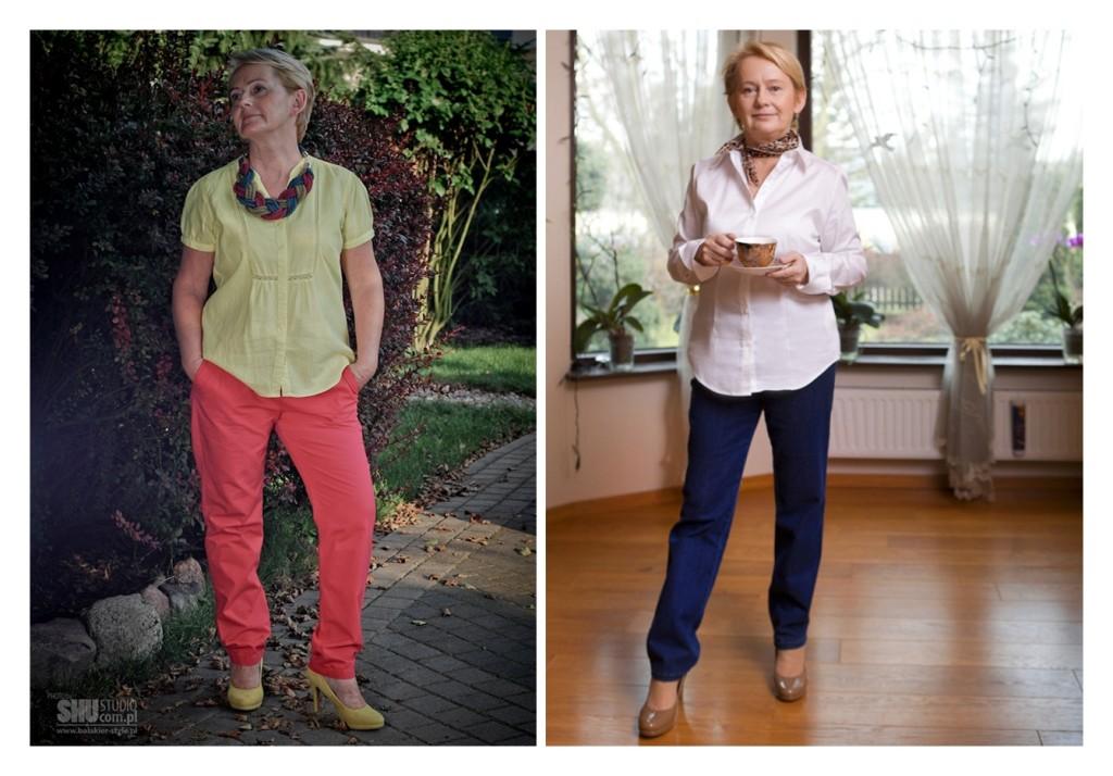 Krysia przed i po
